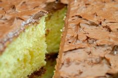 Grandma's (From-Scratch) Chocolate-Frosted Yellow Cake – 12 Tomatoes The Cake Mix Doctor, Dessert Cake Recipes, Dessert Ideas, Potluck Desserts, Baking Desserts, Delicious Desserts, Yummy Food, Chocolate Frosting, Chocolate Cake