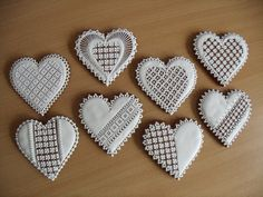 Lace Cookies, Honey Cookies, Sugar Cookies, Valentines Day Cookies, Holiday Cookies, Christmas Biscuits, Heart Cakes, Cupcakes, Cookie Designs