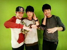 Hansol, Soonyoung, Seokmin ~Seventeen pledis boy group