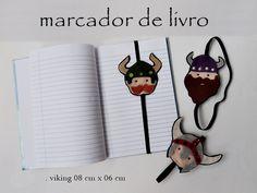 Marcador de livro - Viking
