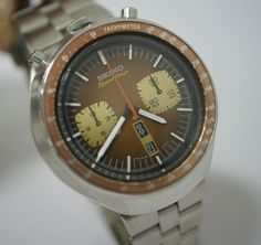 "Vintage #Seiko SpeedTimer ""Bull-Head""  My birthday is coming up if you need ideas...."