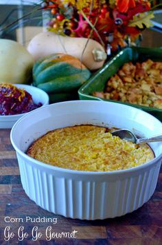 A tried-and-true family favorite- corn pudding. A must for your #Thanksgiving dinner (and let's be honest, all year round).