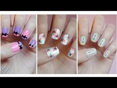 ▶ Easy Nail Art For Beginners!!! #8 - YouTube