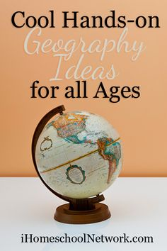 10 Cool Hands-on Geography Ideas for All Ages - iHomeschool Network Hands On Geography, World Geography Games, Middle School Geography, Geography Lesson Plans, Geography Classroom, Geography For Kids, Geography Activities, Teaching Geography, History Classroom