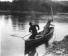 Cascapedia River, New Brunswick, 1913Photo: Wm. Notman & Son /Source:McCord Museum