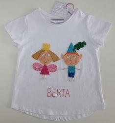 cocodrilova: camiseta ben y holly #camisetapersonalizada #camisetabenyholly #benyholly #hechoamano  camiseta-benyholly