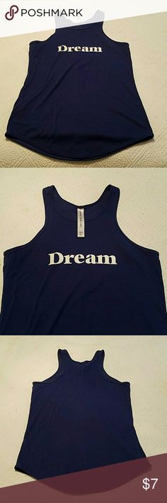 Lorna Jane Dream Tank Royal blue racer back tank perfect for your next workout. 60% poly and 30% cotton. Fits beautifully! Lorna Jane Tops Tank Tops