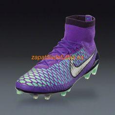 56% de descuento Botas De futbol Nike Magista Obra FG Plateado Hiper Uva Metalico Feroz Purpura Verde Del Resplandor Purpura Dinastia Negro