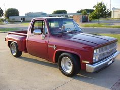 dropped step side pics - The 1947 - Present Chevrolet & GMC Truck Message Board Network Chevy Stepside, Chevy Pickups, C10 Trucks, Chevrolet Trucks, Old Pickup, Message Board, Antique Cars, Wheels, Messages
