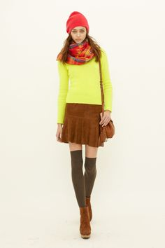 sweater score: 3.5 | outfit score: 3.4 | scarf score: 3.6 || Polo Ralph Lauren