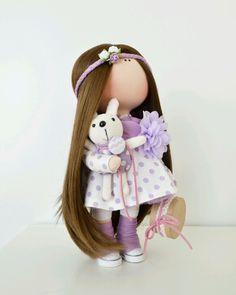 """Cute fabric doll / Купить Интерьерная куколка ручной работы """"Принцесска """" - кукла ручной работы, кукла в подарок"""