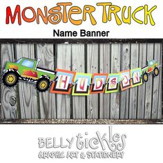truck flags and banners