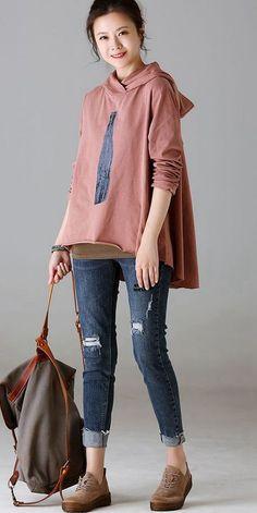 e4beb09c7bf0a Casual Button Down Cotton Linen Shirt Women Tops For Autumn C1867 ...