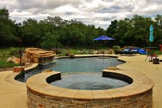 After a long day work, wouldn't it be nice if you could #dive into your own refreshing #swimmingpool? Contact Trinity Today! #Backyard #Pool