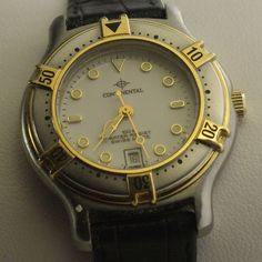 Women's Continental Watch, Quartz, Swiss Made , White Dial, Great Condition