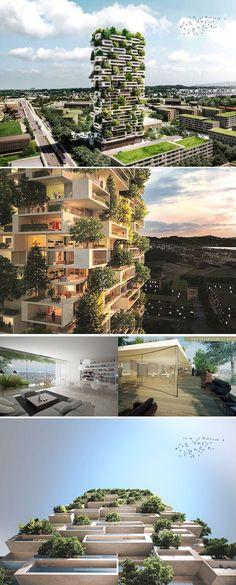 La Tour des Cedres | Stefano Boeri Architects