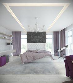 Modern bedroom design ideas with luxury decoration