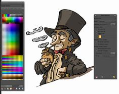 A nice clear simple tutorial on turning a pencil sketch into finished print-ready artwork, using the free GIMP graphics software...