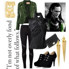 LOKI Marvel's The Avengers Thor ❤ liked on Polyvore featuring avengers