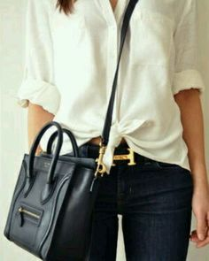 Celine nano and the H belt.... checkmate...