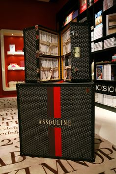 Assouline + Goyard at the Assouline Boutique at the Plaza Hotel, New York City #womensbags