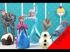¡PALETAS DE TORTA DE FROZEN! ¡Todos los personaje de FROZEN de Disney... en Paletas de Torta! - YouTube