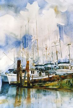 Watercolor Original - Queensborough