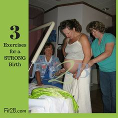 Strong birth takes fitness and strength with yoga and pilates and weights