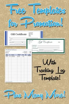 Gift template offers free professional blank templates to make gift free gift certificate gc templates plus a gc tracker log this is a yelopaper Gallery