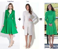 Duchess Catherine Kate Middleton style.   Catherine Walker / Catherine Walker / i-Obrázky