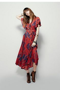 Free People Sweet Escape Wrap Maxi at Free People Clothing Boutique