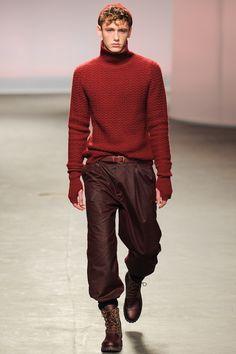 Topman Design Fall 2013 Menswear Collection Slideshow on Style.com