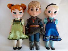 DISNEY FROZEN ANIMATOR DOLLS in Dolls & Bears, Dolls, Clothing & Accessories, Fashion, Character, Play Dolls | eBay