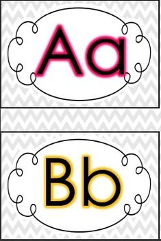 1000 ideas about word wall letters on pinterest word for Word wall template printable