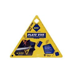 "Tri-Vise PVL001 4"" Plate Vise Tri-Vise. Instantly holds materials fast and tight."