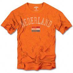 World Cup T-shirts - #TshirtTuesday - Netherlands #WorldCup2014 #Brazil2014 #Football #Tshirt