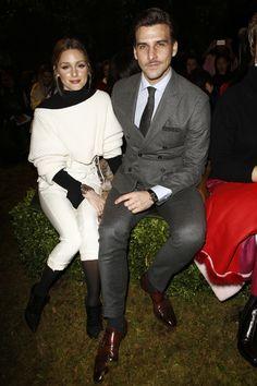 Christian Dior Spring 2017 Couture Front Row Celebrity Photos - Olivia Palermo, Johannes Huebl