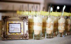 No-Bake Mini Banana Parfait Desserts