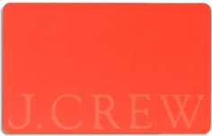 Gift Cards & Online eGift Cards | J.Crew. For me or Brian (he also shops Men's Wearhouse and Banana Republic)