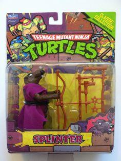 TMNT Teenage Mutant Ninja Turtles Classic Collection Splinter Action Figure