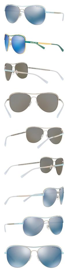 e5d4cec65505 $92.23 - Michael Kors Vivianna I MK1012 Sunglasses 110922-58 - Silver/periwinkle  Frame