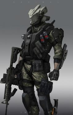 Image result for asian soldier character art