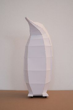 Penguin  do it yourself paper lampshade by mostlikelyShop on Etsy