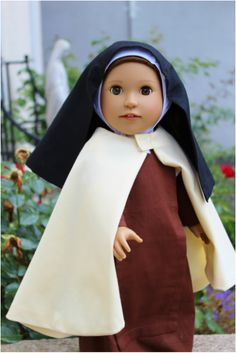 18 inch Saint Dolls that comes with a book that will inspire children to become saints. Our First doll is St. Therese