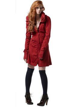Prairie Underground Cloak Hoodie- Christmas gift in Lipstick Red!  Love it!!!