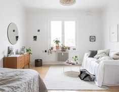 home tour vintage scandinave salon lin enfilade mademoiselle claudine Plus