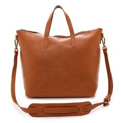 Every day, I see at least one person carrying this Madewell tote, and there's a good reason why.