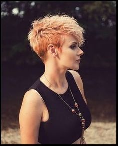 25 Fabulous Short Spikey Hairstyles for Women and Girls | Fine ...