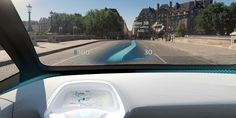 Using all sorts of futuristic tech, navigation directions will appear to be projected on the road in front of you.