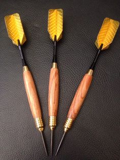 A personal favorite from my Etsy shop https://www.etsy.com/listing/234022852/22g-hand-made-steel-tipped-darts-in